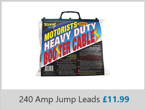 Streetwise 240 Amp Jump Leads
