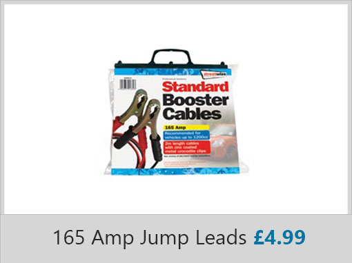 Streetwise 165 Amp Jump Leads