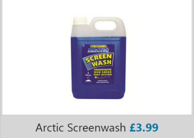 Acrtic Screenwash 3.99