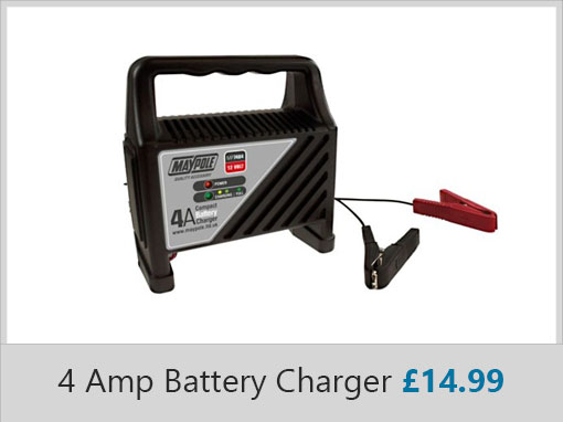 Maypole 4 Amp Battery Charger