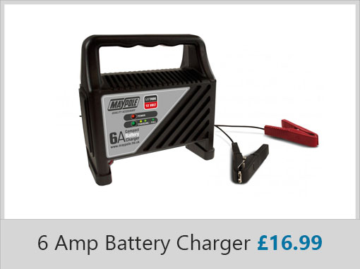 Maypole 6 Amp Battery Charger