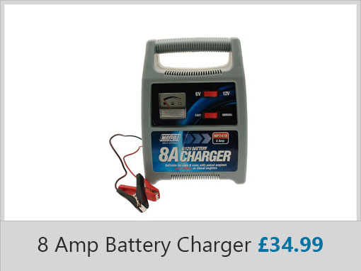 Streetwise 8 Amp Battery Charger